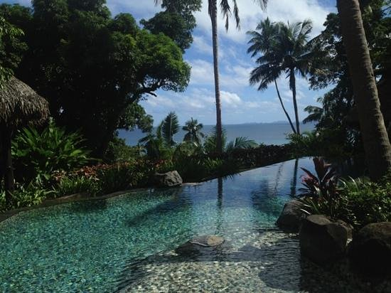 Laucala Island Resort : view from platue villa