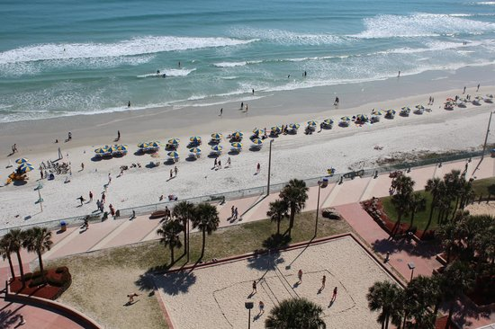 Hilton Daytona Beach Oceanfront Resort: Oceanfront View from 15th Floor