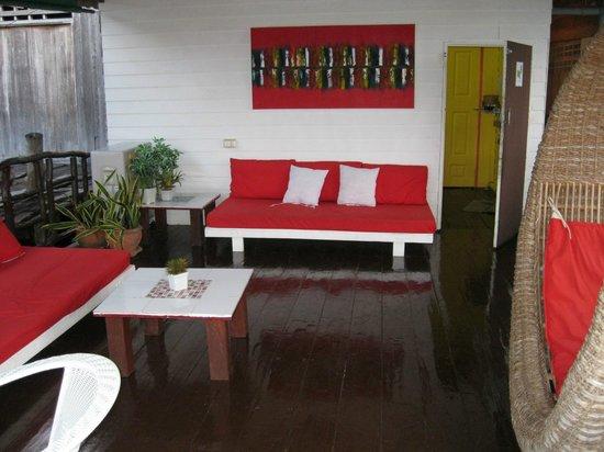 Serenity Massage and Spa: sea facing veranda