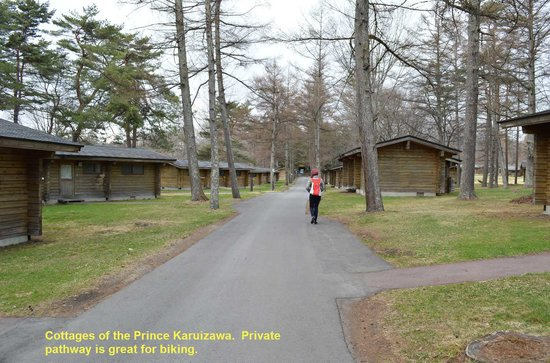 Karuizawa Prince Hotel East: The Prince Hotel complex offers cottages.