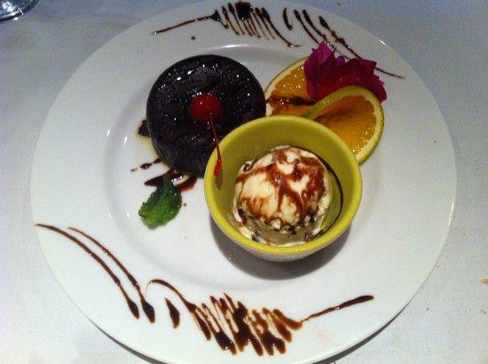 Mambo Restaurant : Warm Chocolate Souffle