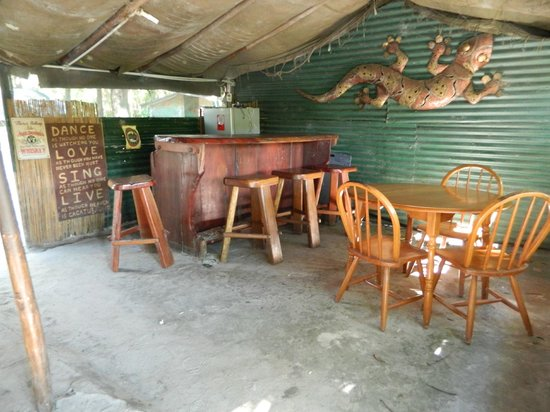 Gagaju Bush Camp: Bar Area
