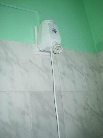 Hostal Villa Esperanza : shower