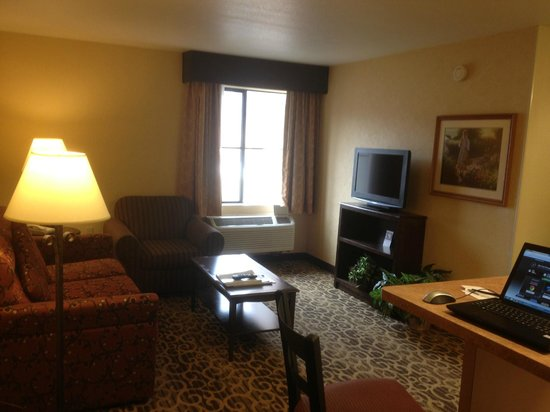 Hampton Inn and Suites Park City: Living Room