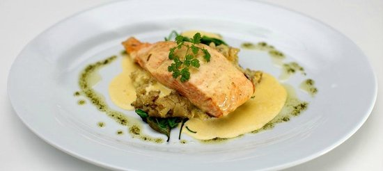 The Tea House Cafe & Restaurant: The Tea House - Salmon