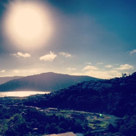 Searene Whitsundays: amazing views! sunrise over airlie beach