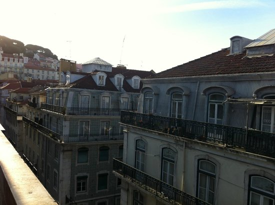 Lisbon Short Stay Apartments Baixa: View from room