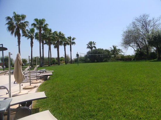 Eurotel Altura: Grass area by the pool.