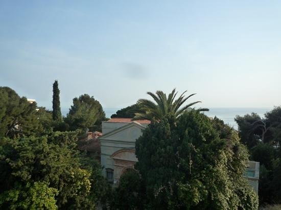 Hotel de Monaco : vue sur la mer depuis la 32
