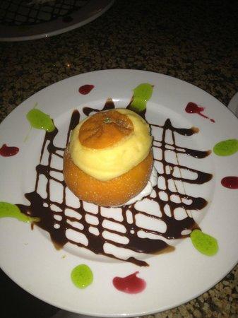Paesano Ristorante Italiano: Tangerine sorbet
