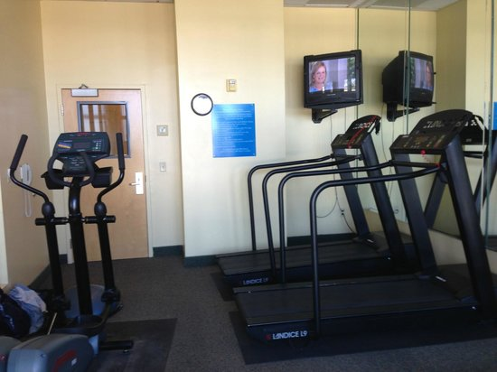 Lake Blackshear Resort and Golf Club: so-called fitness room
