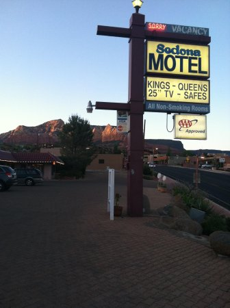 ‪‪Sedona Motel‬: Located on corner of 179& 89A‬