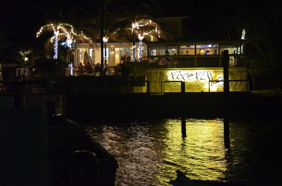 Firefly Bar & Grill : View from the Firefly Resort Dock