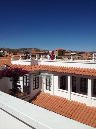 El Hostal de Su Merced: roof