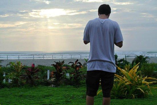 Canoa Beach Hotel: The view