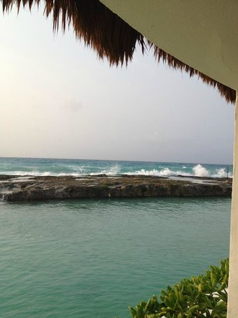 Hard Rock Hotel Riviera Maya: View from Yoga Gazebo