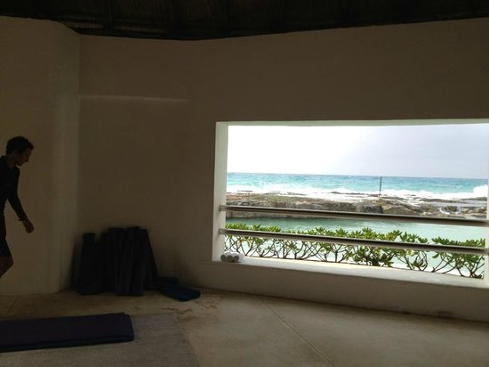 Hard Rock Hotel Riviera Maya: Gazebo we did Yoga in
