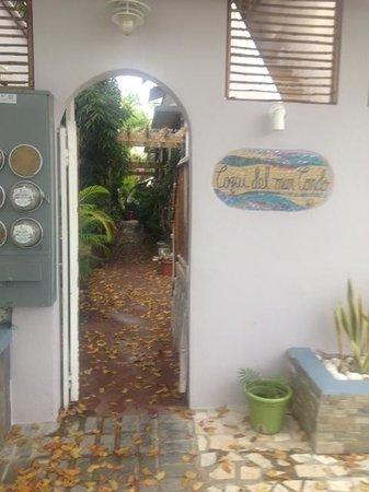 Coqui del Mar Guest House: Entrance to Coqui Del Mar