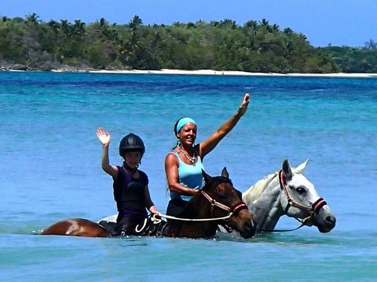 Being with Horses: Riding in Paradise!