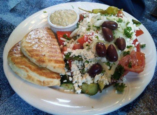 Dorian Greek House: World's best Hummus, right here...