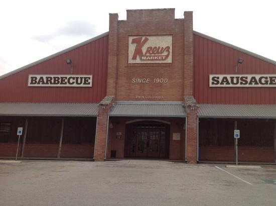 Kreuz Market: Entrance to Kreuz.