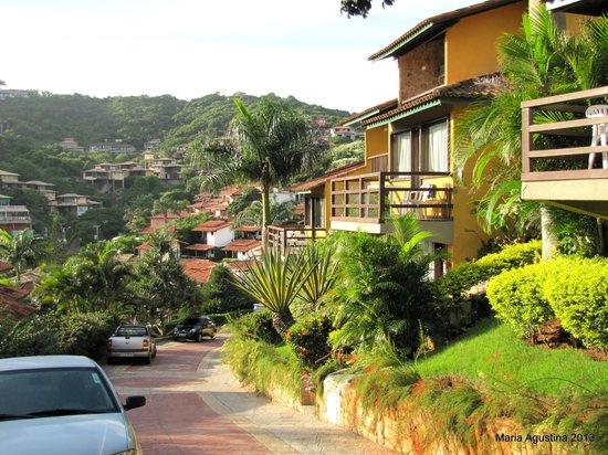 La Boheme Hotel e Apart Hotel: vistas desde la pousada
