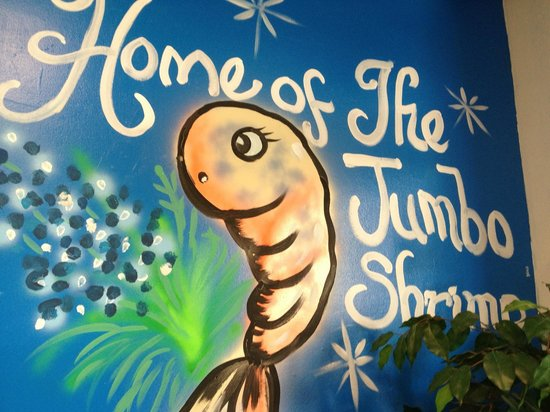 Sam's Southern Eatery: Mural on an inside wall.