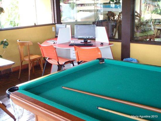 La Boheme Hotel e Apart Hotel: Salón de juegos y computadoras