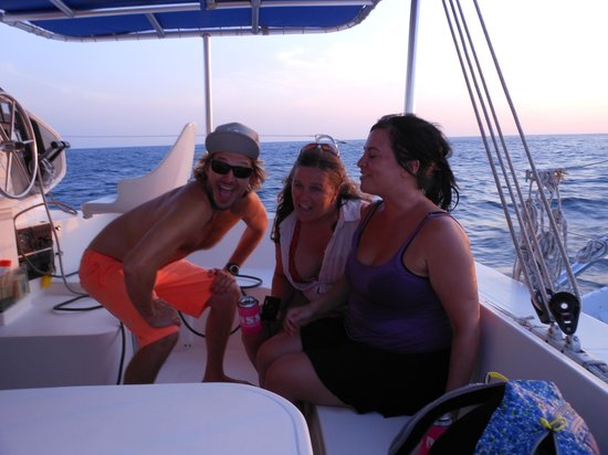 Nica Sail and Surf: Zack, Jennifer & Sookie