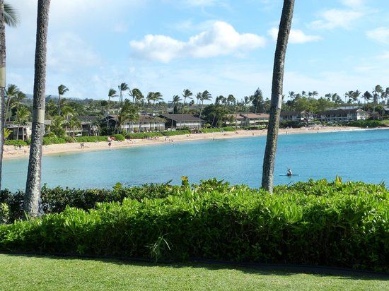 Napili Kai Beach Resort: view from our room in Lani 1