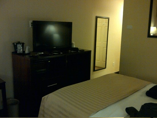 View Inn and Suites JFK: View of room/TV