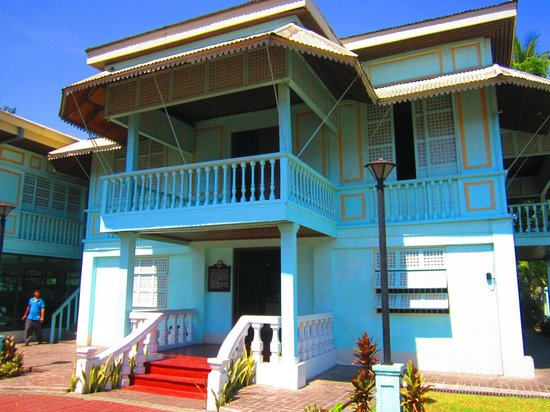 Palauig, Philippines: The building is a replica of the original house
