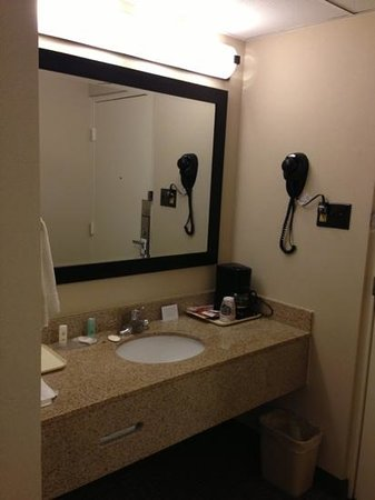 Comfort Inn: Close up of sink area.