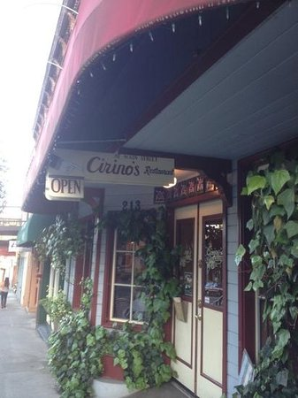 Cirinos At Main Street: in downtown grass valley