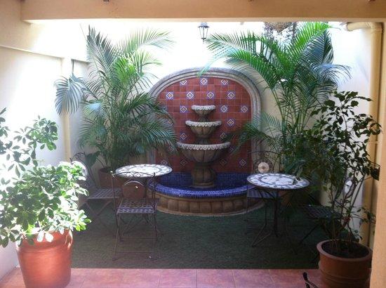 Colibri Hotel y Desayuno : Breakfast nook