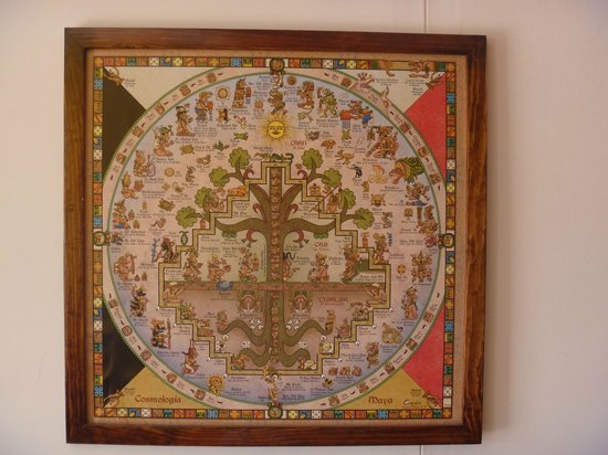 Yerbabuena del Sisal Restaurante : mayan wall calendar for sale