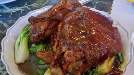 The Noodle Shop: Hunan hot and spicy pork shoulder