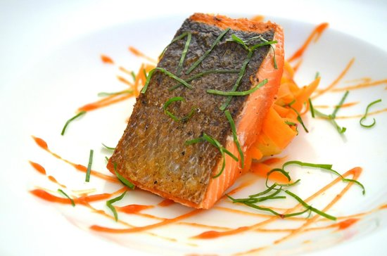 McCarthy Lodge & The Ma Johnson's Hotel: Copper River Red Salmon