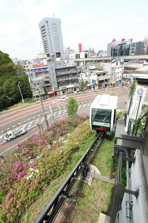 Kita, Ιαπωνία: アスカルゴに乗って一気に公園へ ラクラク
