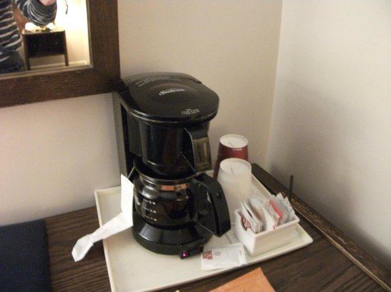 The Recreation Inn & Suites: In room Coffee maker
