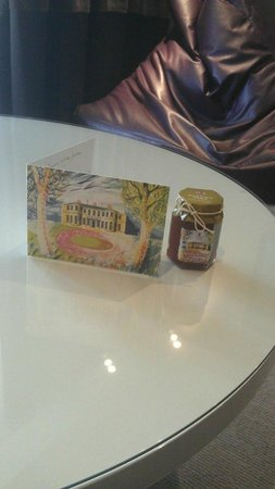 Rudding Park Hotel: Our complimentary jam - nice touch!