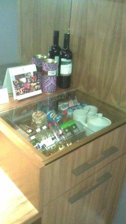 Rudding Park Hotel: Mini Bar!