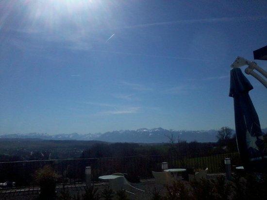 Hotel Le Funi de Cossonay: Aussicht von meinem Zimmer