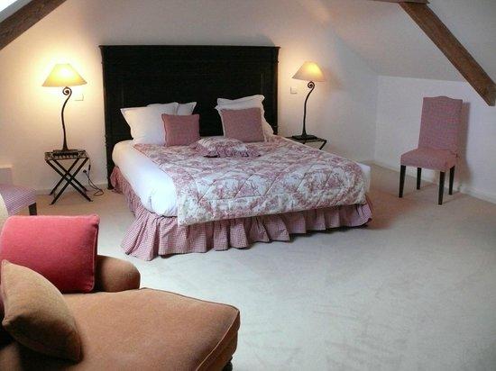 Le Chateau de Sully : SUITE DUPLEX CHAMBRE DU HAUT