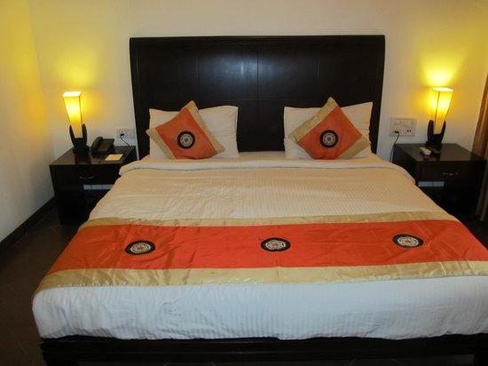 Meraden La Oasis: The bed