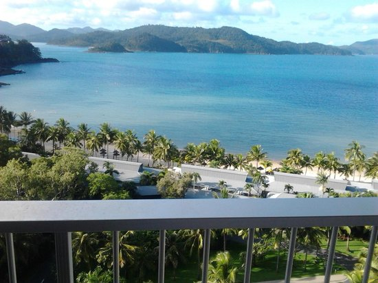 Reef View Hotel: View from the balcony