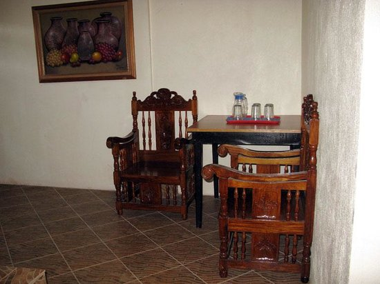 Small table at the dirty kitchen - Picture of Balay Inato Pension ...