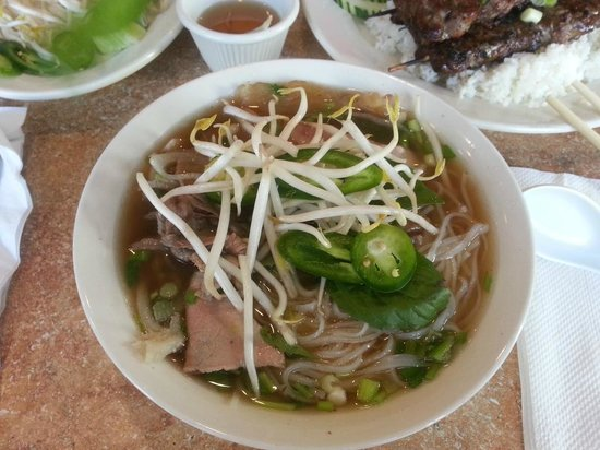 Pho 79 Vietnamese Restaurant: Pho Ð79 Dac Biet - Noodle soup with all sorts of meat
