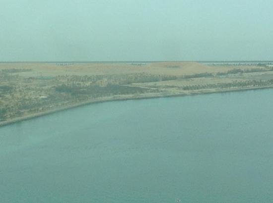 Sofitel Abu Dhabi Corniche: View from our room