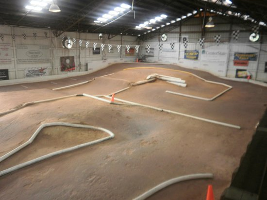 Ocala, Floride : Part of Indoor track